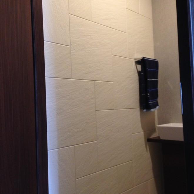 トイレにパターンBでストーンⅡ