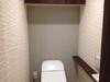トイレの両脇にアレッシュのホワイト