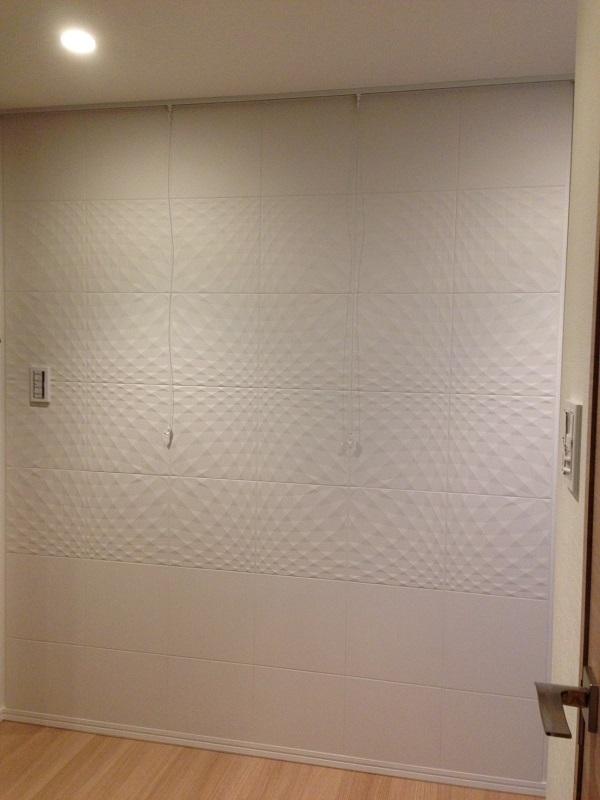 廊下にエコカラットプラスのニュートランスとピクチャーレール