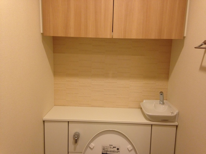トイレ アレッシュ(ホワイト)を施工