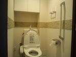 トイレにカッセ(ライトグリーン)をライン貼