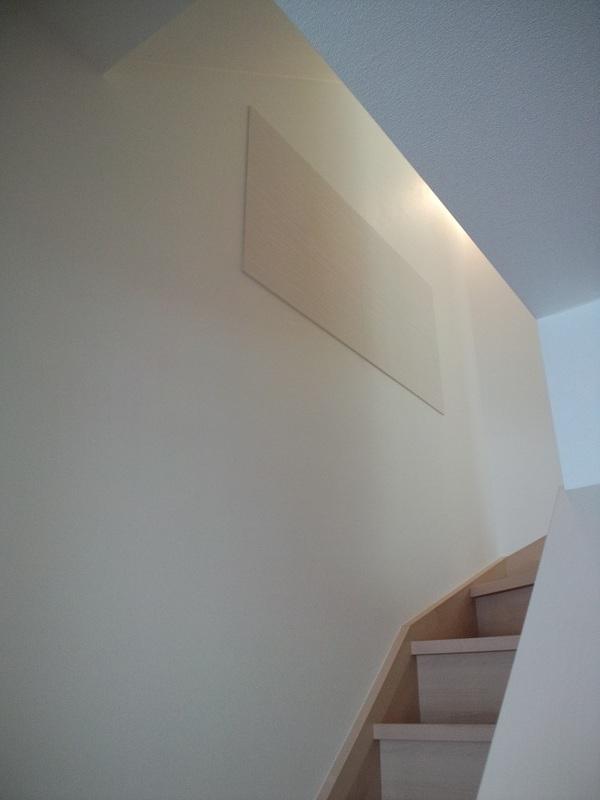 階段中段にアクセント(スプライン)