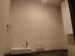 トイレにストーンⅡをパターンBで施工