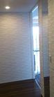 ルドラのホワイト×ミラーで玄関に高級感を