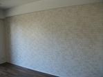 LDの壁一面をヴィストのホワイトで