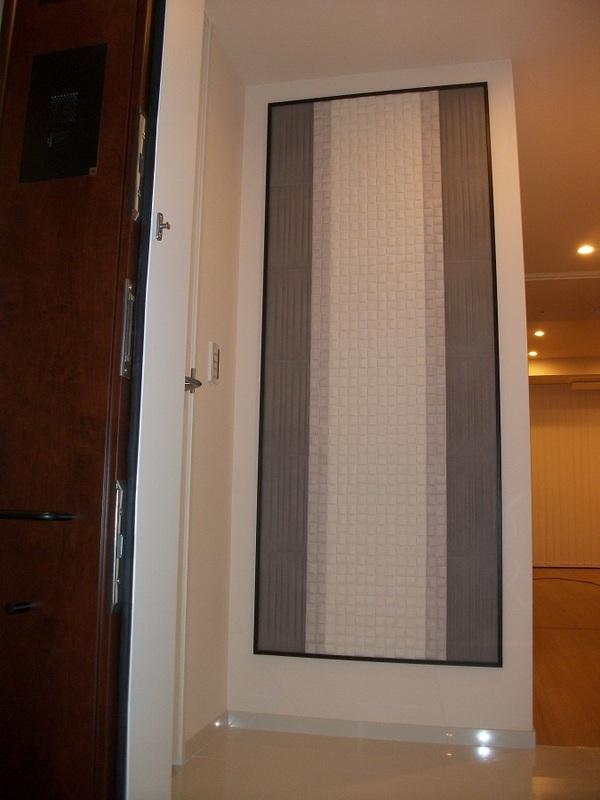 玄関にパッケージプラン(グラナスラシャ×モザイクヴィーレ)