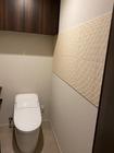 トイレにニュートランスのベージュ