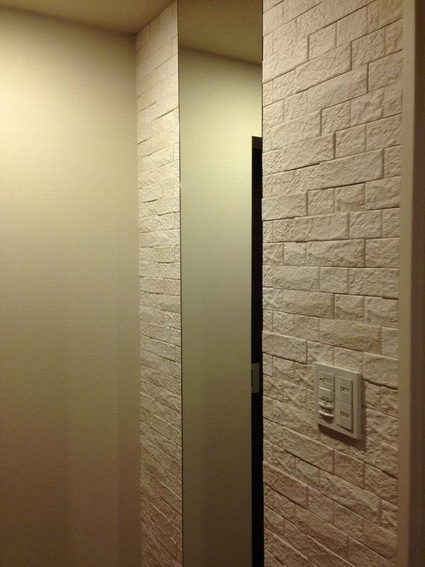 暖かみのある玄関に☆
