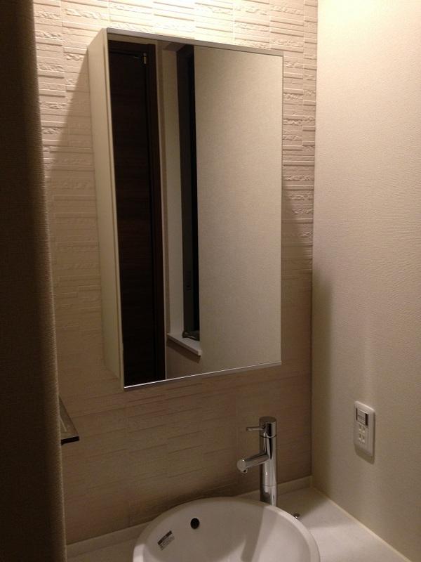 洗面室には水をはじいてくれるエコカラットプラスを!