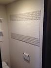 トイレに人気のヴィーレを使ってのデザイン貼り