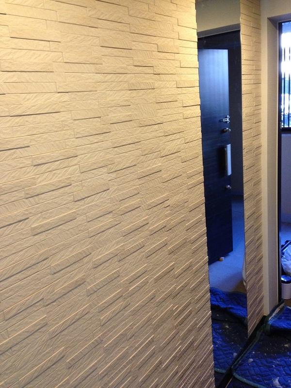 巾木~天井のミラーとコラボ☆