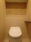 トイレにベージュのグラナスヴィスト