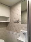 トイレにペトラスクエアのライトグレー