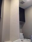 トイレにオーダーミラーとエコカラットプラスのたけひご