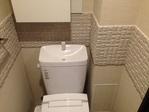 トイレにヴィーレをライン貼り