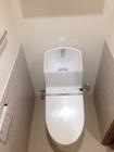トイレに腰高でアレッシュのグレー