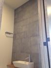 トイレのカウンター上にストーンⅡのグレー