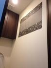 トイレにフェミーナとラグジュアリーモザイクのデザイン貼