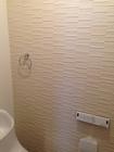 戸建のトイレにアレッシュのホワイト