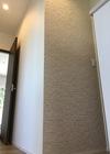 2階の廊下にカッセのアイボリーベージュ
