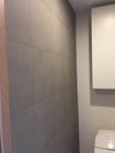 トイレにフェミーナのグレイッシュブラウン、武蔵野市