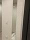 玄関にオーダーミラーとニュートランスのホワイト