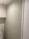 トイレにスプラインのライトグリーン