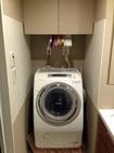 洗濯機の両サイドに