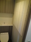 トイレの壁にはデザイン性UPのデザインパッケージ!