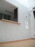 壁につけるだけでお部屋の雰囲気がガラッと変えてくれるので施工して本当に良かったです!