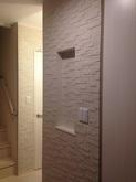 時間をかけて色々と要望を聞いて頂けたので、とても安心感がありました。複雑な形状の壁でしたが、丁寧に仕上げて頂きました。