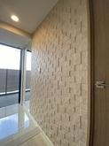 壁とエコカラットの寸法の合わせ方をとても真剣に考えてくれとても良く信頼できると感じた。満足です!